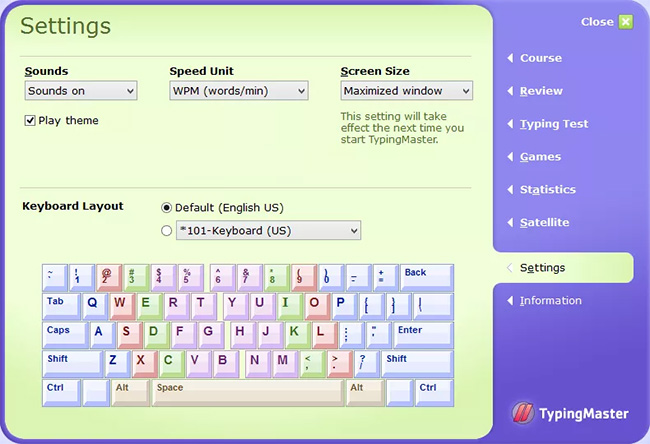 Phần mềm tập đánh máy tính Typing Master và Typing Master Pro
