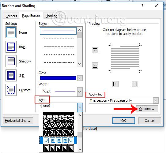 Lựa chọn khung viền cho bìa sổ