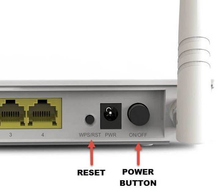 Kiểm tra lại Modem hay Router Wifi.