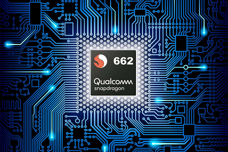 OPPO A74   Trang bị chipset Snapdragon 662